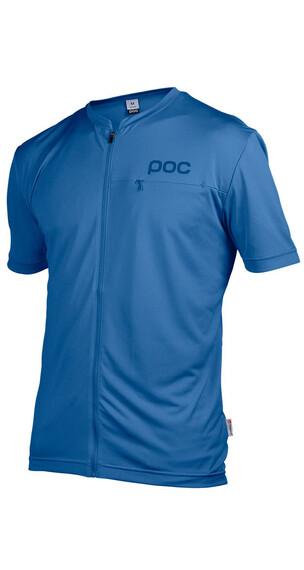 POC M's Trail Light Zip Tee Stibnite Blue